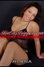 Female Stripper Alana