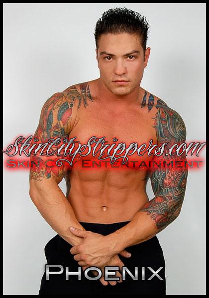 Phoenix - Inland Empire Male Stripper in Riverside California