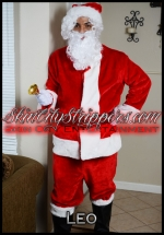 Leo Sexy Santa Male Stripper