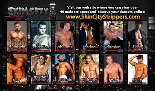 Male Strippers in San Diego California