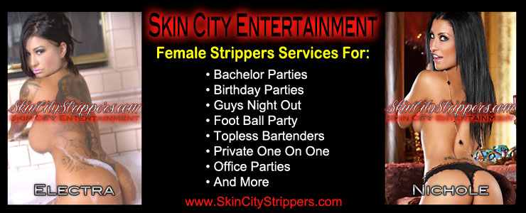 Female Strippers Services